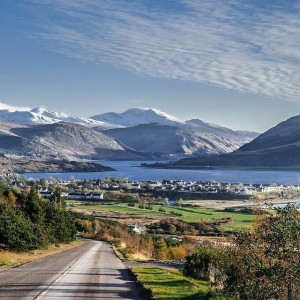 Looking down on Ullapool in the winter (1)
